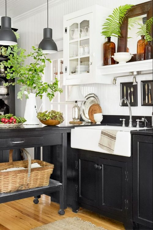 11 Stunning Black Kitchen Cabinet Ideas That Are Too Chic ...